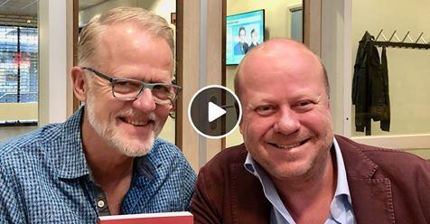 René den Ouden te gast bij Waarheen, Waarvoor? op NH radio. Het programma van Koop Geersing.